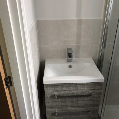 AT Boilers New Build Complete Bathroom Installation 2