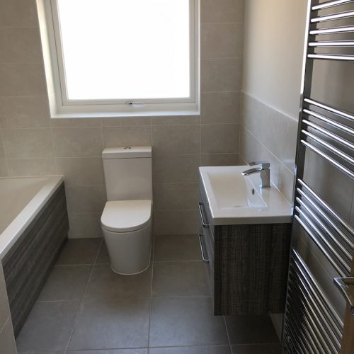 AT Boilers New Build Complete Bathroom Installation 6